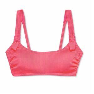 Target xhilaration ribbed bralette bikini top